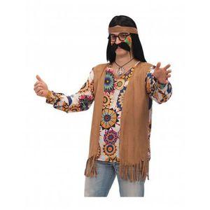 ACCESSOIRE DÉGUISEMENT Déguisement hippie marron homme c2962981645a