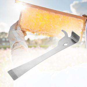 CORPS DE RUCHE Poli ruche d'abeille en acier inoxydable grattoir