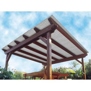 STORE - STORE BANNE  Store terrasse polyvalent Multipaille gris 300 x 1