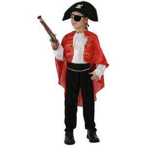 Ensemble de vêtements Deguisement Costume Capitaine Des Pirates Hallowee