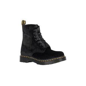 BOTTINE Boots Dr. Martens 1460 Pascal Velours Noir