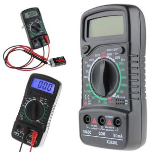 MULTIMÈTRE NEUFU XL830L Multimètre LCD numérique voltmètre am