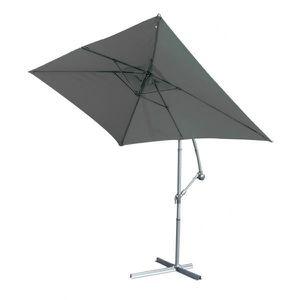 parasol rectangulaire 3x2 gris