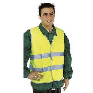 KIT DE SÉCURITÉ Gilet de sécurité jaune