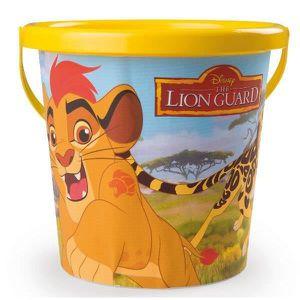 BAC À SABLE LA GARDE DU ROI LION Smoby Seau - Disney