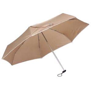 PARAPLUIE Ultra-leger ultra-courte parapluie de mode UV bril