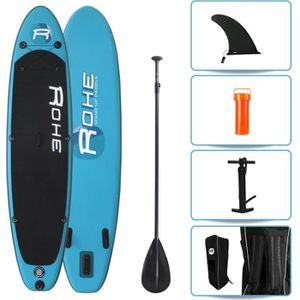 STAND UP PADDLE ROHE Pack Paddle Gonflable Pacific - 320x76x15cm -