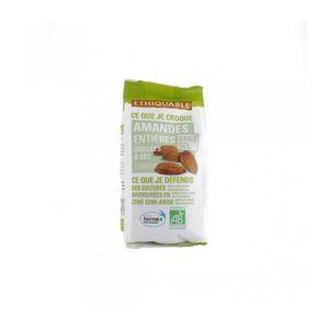 GRAINES - ARACHIDES ETHIQUABLE Amandes grillées à sec sans sel - 100 g