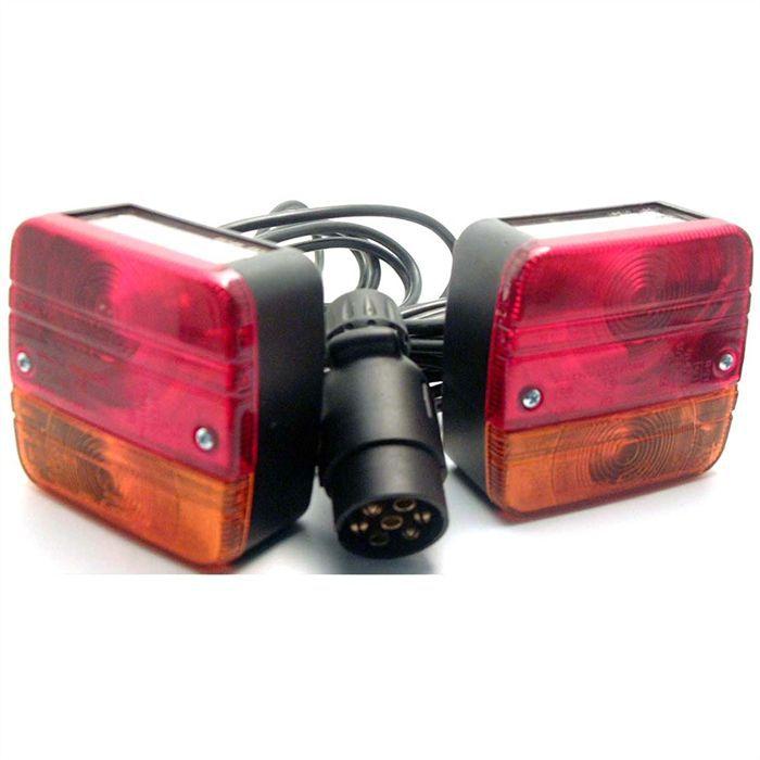 cartec kit feux d 39 equipement remorque achat vente feux de remorque cartec kit feux d. Black Bedroom Furniture Sets. Home Design Ideas