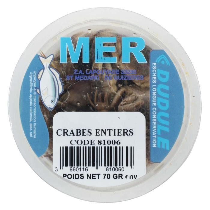 DUDULE Crabes Entiers en Boite