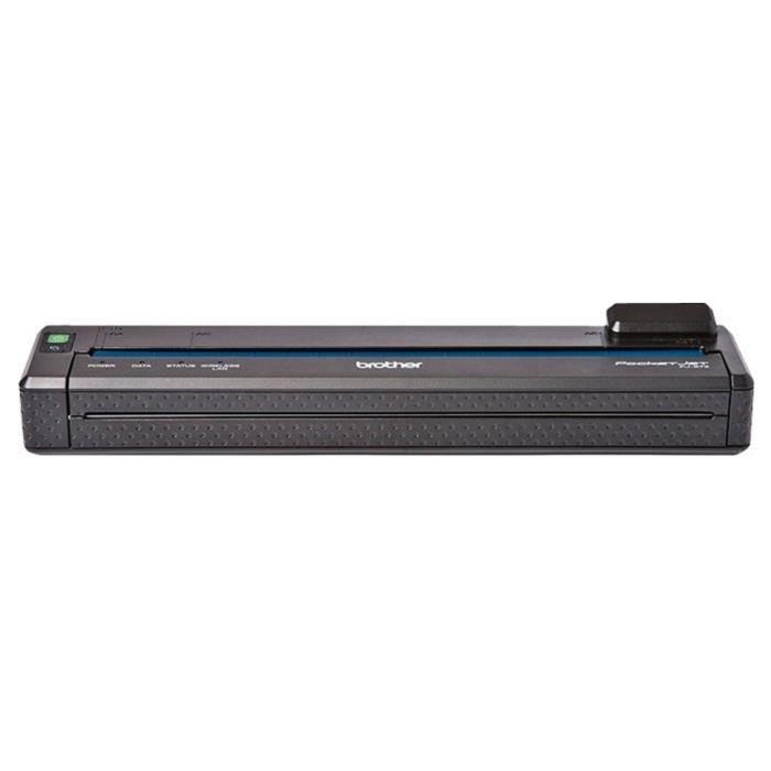 BROTHER Pack PJ-673F2 - Imprimante mobile PJ673 - Transfert thermique - Monochrome + Adaptateur secteur PAAD600EU + Batterie Ni-MH
