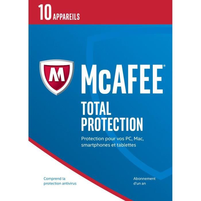 McAfee® Total Protection 10 appareils