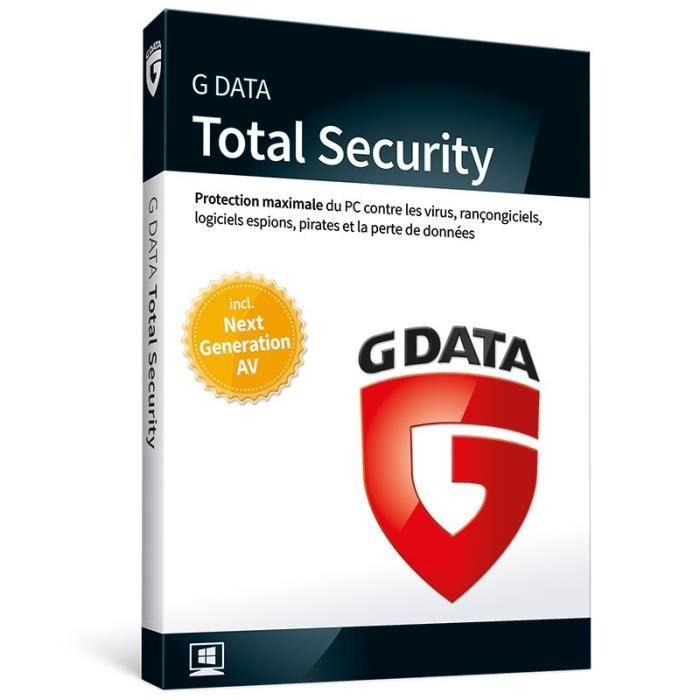 G DATA Total Security 2018 (1 PC - 1 an)