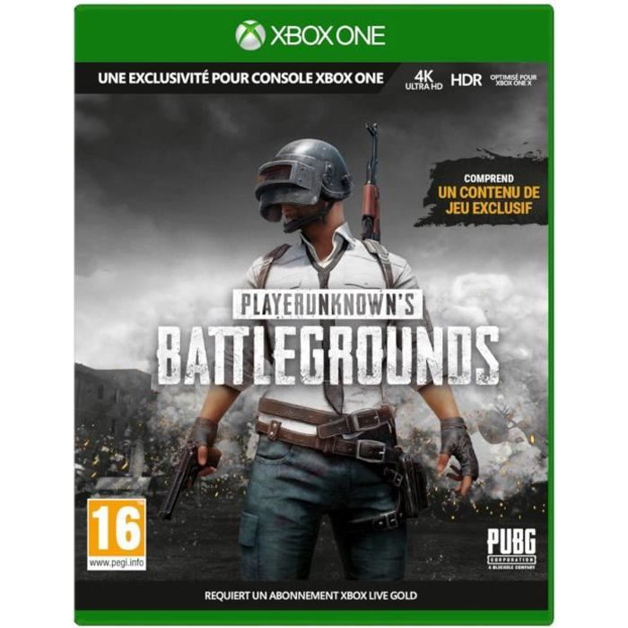 Playerunknown's Battlegrounds 1.0 Jeu Xbox One