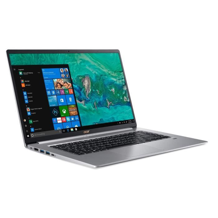 Acer pc portable sf515 51t 5236 156 fhd intel core i5 8265u ram 8go stockage 512go ssd windows 10