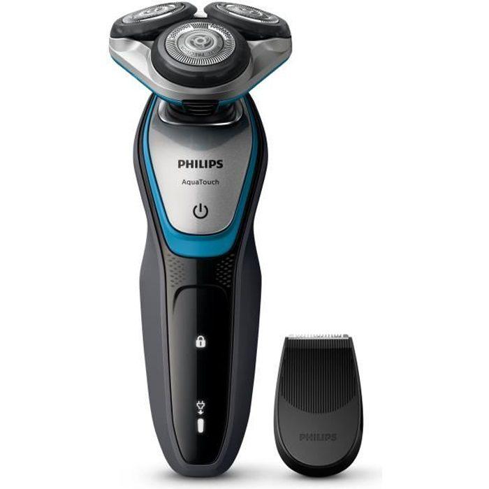 PHILIPS S5400/06 Rasoir / Tondeuse électrique - Series 5000 Wet&Dry - Lames MultiPrecision - 100% Ét