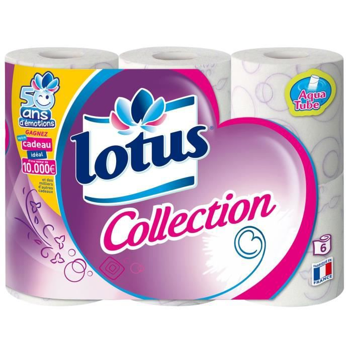 LOTUS Collection - 6 rouleaux