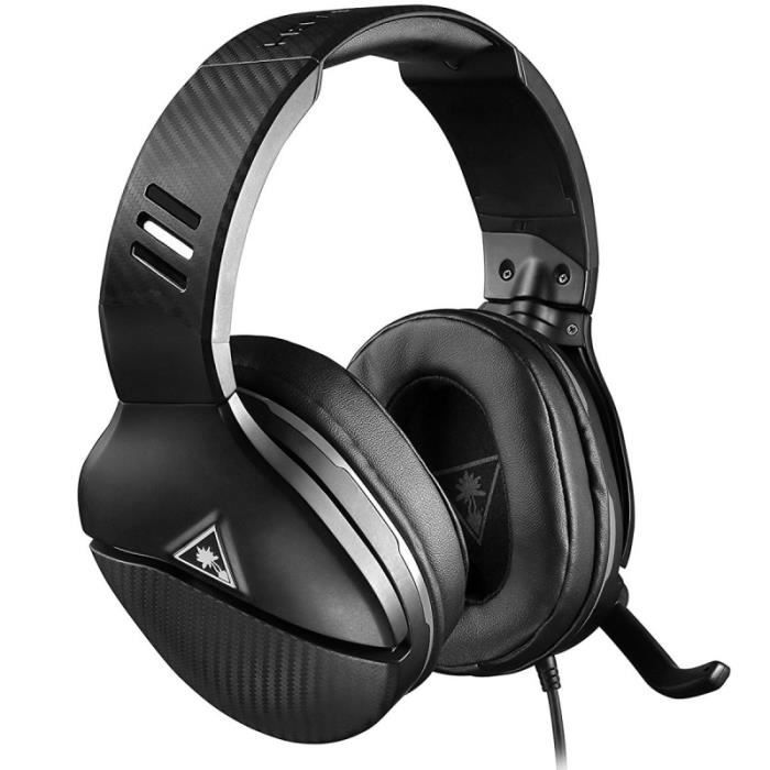 Turtle Beach - Casque Gamer - Recon 200 Noir (compatible PS4 / Xbox / Switch / PC / Mobile) - TBS-3200-02