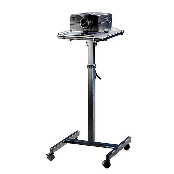table pour vid oprojecteurs hauteur r glable 800 1250 mm dimensions base l x p 400 x 500 mm. Black Bedroom Furniture Sets. Home Design Ideas