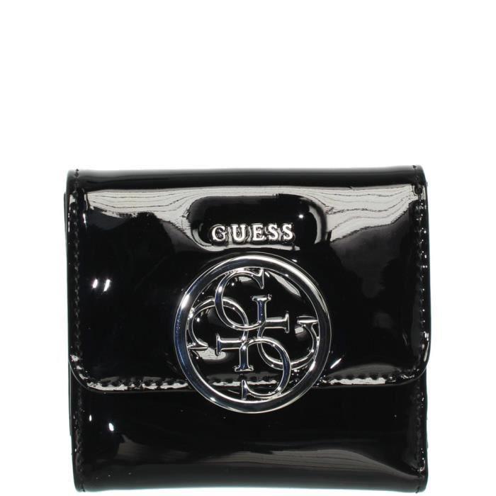 Porte-monnaie Guess Kamryn ref guess41636-black-10 10 3 Noir - Achat ... a9ced94003b