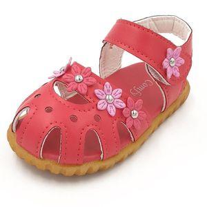 BOTTE Enfants Mode causale d'été fleur plate Soft Bottom filles sandales@BlancHM t1B56z9