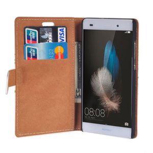 HOUSSE - ÉTUI RUILEAN Elegant Pattern Flip Leather Wallet Card P. ‹