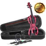 VIOLON STAGG EVN X-4/4 MRD Pack violon électrique 4/4 rou
