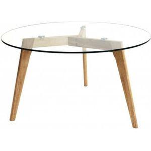 Table Ronde Transparente Achat Vente Pas Cher