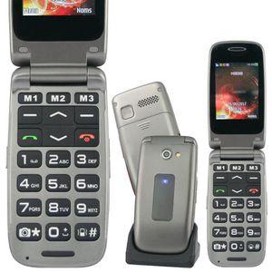 Téléphone portable CLAP FACILE 4 RUMBA Bronze: Beau design - son asse