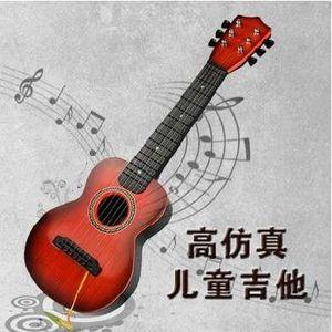 GUITARE Six enfants guitare peut jouer le type de la guita