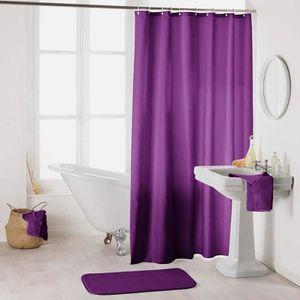Rideau de douche violet - Achat / Vente Rideau de douche violet pas ...