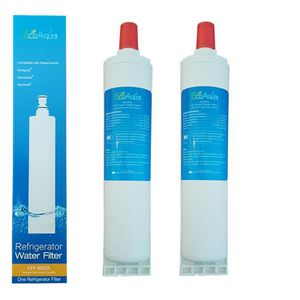 FILTRE APPAREILS FROID 2 x Filtre EcoAqua EFF6002A remplace WHIRLPOOL SBS