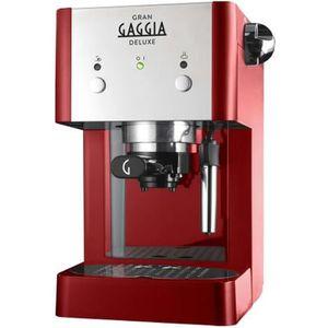 MACHINE À CAFÉ Gran Gaggia Deluxe RI8425 - Machine à café avec bu