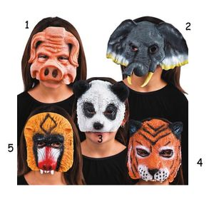 MASQUE - DÉCOR VISAGE Masque Demi Visage Animal Cochon Mod4 - Halloween