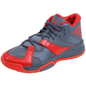 CHAUSSURES BASKET-BALL FIRST STEP GRI - Chaussures Basketball Homme Adida