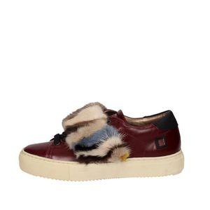 BASKET D.a.t.e. Petite Sneakers Femme Bordeaux, 37