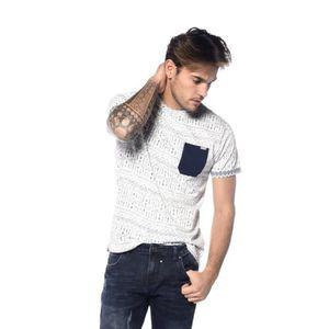 ae347808c69a T-shirt Astec Blanc casse - Achat   Vente t-shirt - Cdiscount