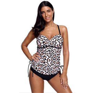Femmes Polka Dot Tankini Set Maillot de bain Monokini Two Pieces Bikini Set Maillots de bain Jeu Nouveau 2018 Acheter Pas Cher En Ligne KW0NEmGb