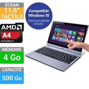 ORDINATEUR PORTABLE Acer PC Portable Tactile Aspire V5-122P
