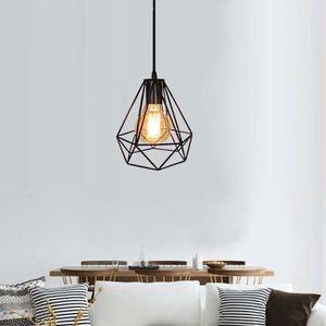 LUSTRE ET SUSPENSION Lampe Suspension E27 Vintage Luminaire Rétro Lampe