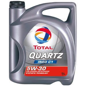 HUILE MOTEUR Huile Moteur Total Total 5W30 Quartz Ineo C1 5L -