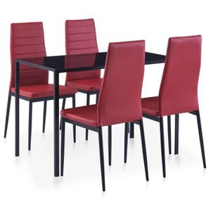 Table A Manger Rouge Achat Vente Table A Manger Rouge