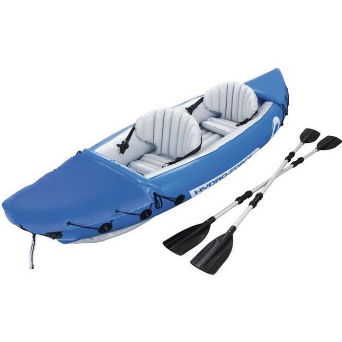 CANOË BEST WAY Kayak Lite-Rapid 2 places + rames