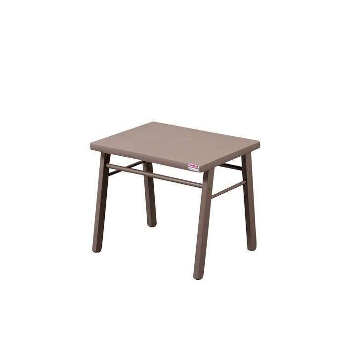 COMBELLE Table enfant laque taupe