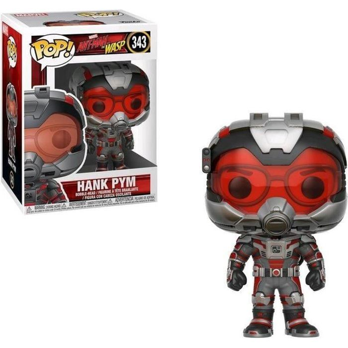 Figurine Funko Pop! Marvel : Ant-Man & The Wasp - Hank Pym