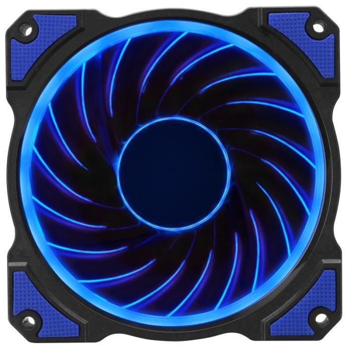 JONSBO Ventilateur Boitier PC FR-101 - 12cm LED Bleu - Dimension: 120mm (W) x 120mm (D) x 25mm (H)