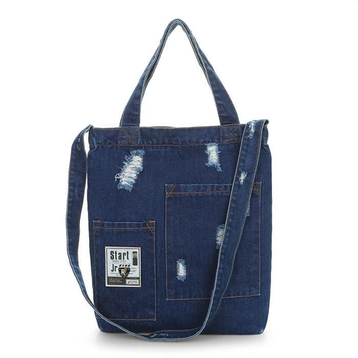 sac à mainFemmes grande capacité Nouveau sac femmes Designer Ladies sacs Big Denim Tote femmes épaule-1876