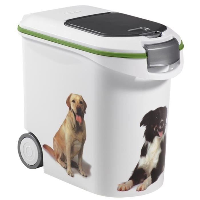 curver conteneur de croquettes pour chien 12 kg achat vente boite pour alimentation. Black Bedroom Furniture Sets. Home Design Ideas