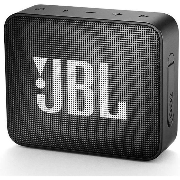 ENCEINTE NOMADE JBL GO2BLK Mini enceinte portable Bluetooth étanch