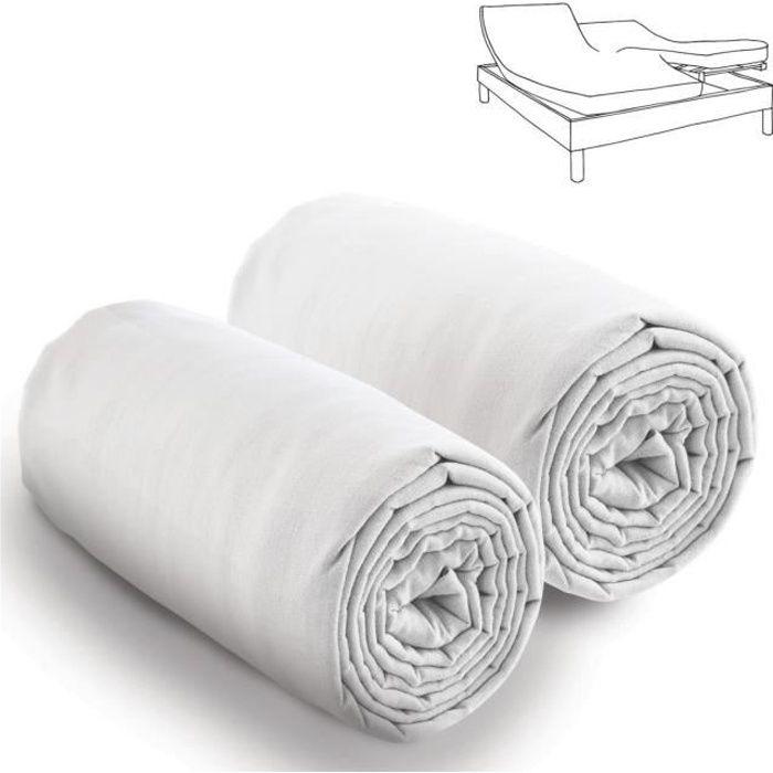 drap housse 80 200 achat vente drap housse 80 200 pas cher cdiscount. Black Bedroom Furniture Sets. Home Design Ideas